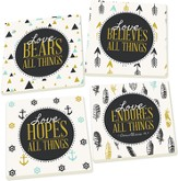 Love All Things Coasters, Set of 4