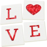 Love Coasters, Set of 4