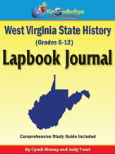 West Virginia State History Lapbook Journal - PDF Download [Download]