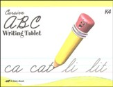 Abeka Cursive ABC Writing Tablet
