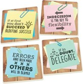 Post it Note Coasters, Set of 4