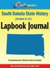South Dakota State History Lapbook Journal - PDF Download [Download]