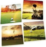 Sunrise Golf Coasters, Set of 4