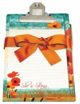 She Is Strong Clipboard Giftset