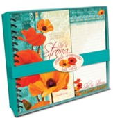 She Is Strong, Journal and Note Pad Giftset