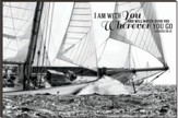 I Am with You Free, Sailing Mounted Print