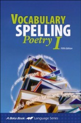 Abeka Vocabulary, Spelling, Poetry I