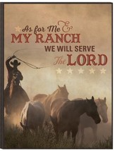As for Me and My Ranch, Mounted Print