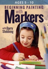 Beginning Painting with Markers DVD Set (2 DVDs)