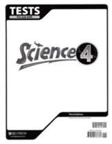 BJU Science Tests Grade 4 (Third Edition)