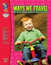 Ways We Travel Gr. PK-K - PDF  Download [Download]