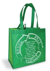 Kneel Pray Repeat Eco Tote