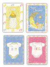 Baby Blessings Cards, Box of 12