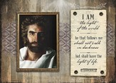I Am the Light--Prince of Peace Scripture Plaque