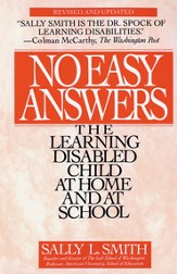 No Easy Answer: The Learning Disabled Child at Home and at School - eBook
