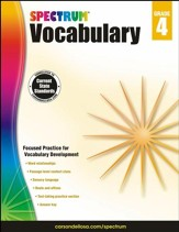 Spectrum Vocabulary Grade 4 (2014  Update)