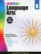 Spectrum Language Arts Grade K (2014  Update)