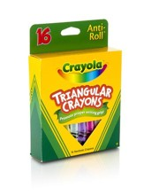 Crayola, Triangular Crayons, 16 Pieces