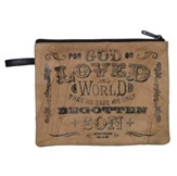 For God So Loved the World Cosmetic Bag