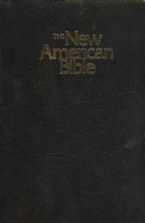 NABRE Gift & Award Bible--Imitation Leather, Black - Imperfectly Imprinted Bibles