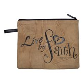 Live By Faith Cosmetic Bag