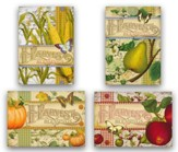 Harvest Blessings Cards, Box of 12