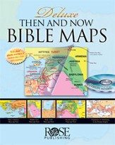 Deluxe Then and Now � Bible Maps - eBook