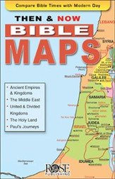Then and Now Bible Maps, Pamphlet - eBook