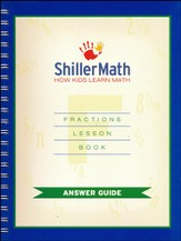 ShillerMath Fractions Book Answer Guide
