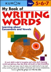 Kumon My Book of Writing Words, Ages 5-7