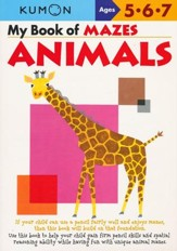 Kumon My Books of Mazes: Animals