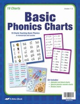 Abeka Basic Phonics Charts (Grades  1-3; New Edition)