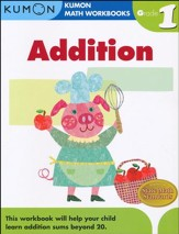 Addition, Grade 1 - Kumon Math  Workbooks