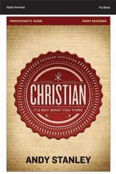 Christian Participant's Guide: It's Not What You Think (All 8 Sessions) - PDF [Download]