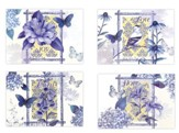 Happy Birthday, Indigo Garden Cards, Box of 12