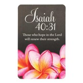 Those Who Hope in the Lord, Isaiah 40:31, Bookmark