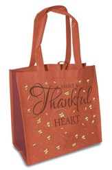 I Have a Thankful Heart, Eco Tote