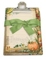 Harvest Blessings Clipboard Gift Set