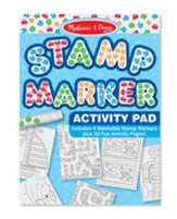Stamp Marker Activity Pad, Blue