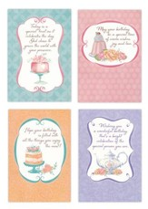 Happy Birthday, Sweet Celebrations Cards, Box of 12