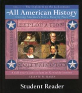 All American History, Vol. 1: The Explorers to the Jacksonians, Student Reader
