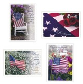 Patriotic Sympathy, Peace and Strength, Boxed cards (KJV)
