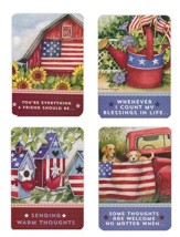 Star-Spangled Friendship Cards, Box of 12