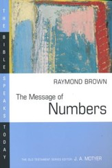 The Message of Numbers: The Bible Speaks Today [BST]