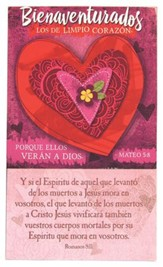 Bienaventurados los de Limpio Corazon (Blessed are the Pure in Heart Magnet)
