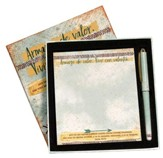 Amarse de Valor, Set de Libreta y Bolígrafo (Encourage Yourself, Notepad and Pen Set)