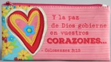 Y la Paz de Dios Gobierne en Vuestros Corazones (Let the Peace of Christ Rule in Your Hearts) Pouch