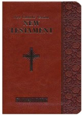 St. Joseph New Testament: New Catholic Version, Imitation Leather, Brown