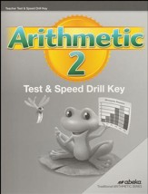 Arithmetic 2 Tests and Speed Drills  Key (2nd Edition)