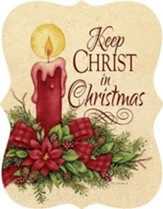 Keep Christ in Christmas, Candle Door Hanger